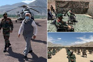 PM lauds contribution of Soldiers, says 'Country is safe in your hands'