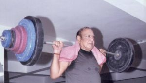 Former Gujarat CM Tweets Pictures Of Workout, Create a Storm On Internet
