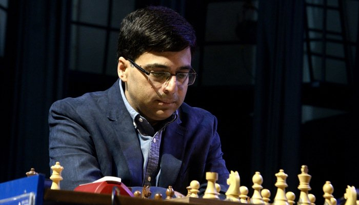 Anand crashes to fourth straight defeat in Legends of Chess tourney