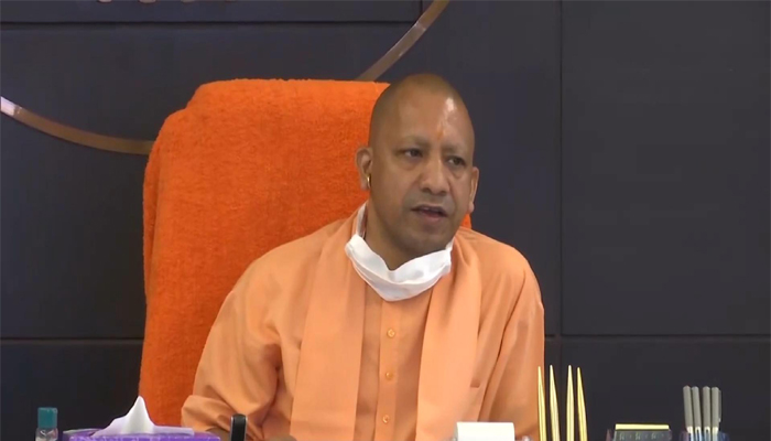 CM Yogi Reviews COVID-19,Says 1 Lakh Tests Per day is Highest Figure Among All States