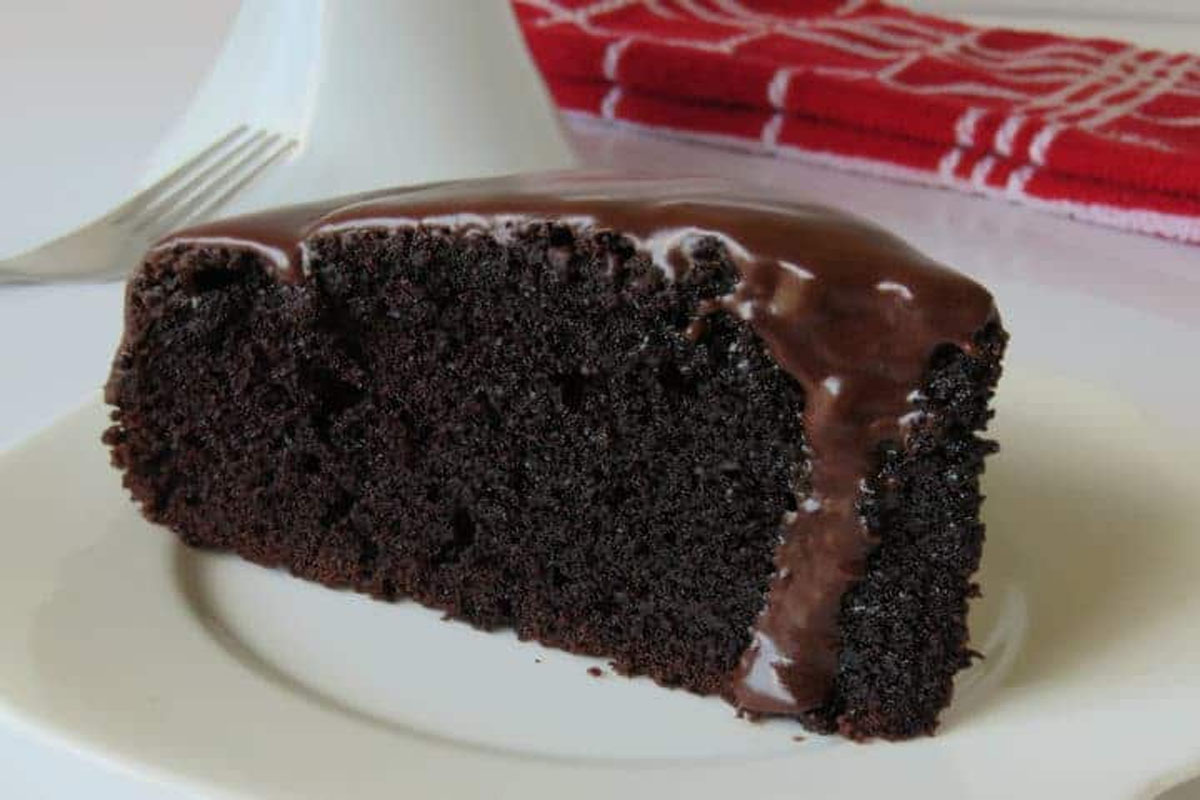 Try this homemade chocolate cake if you cant step outside in your birthday