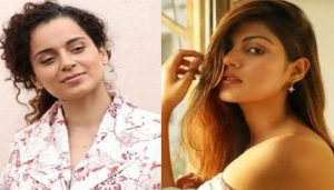 Is suicide gang making Rhea the scapegoat?: Kangana Ranaut