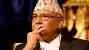 Protest against Nepal PM Oli on his 'Lord Ram was Nepali' comment
