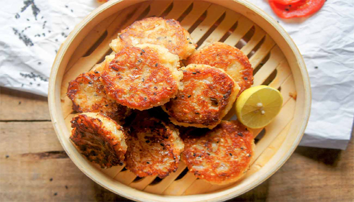Hunger Pangs? Make Crispy Delectable Sesame Bread Patties At Home