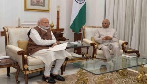 PM Modi sees President Kovind to discuss various significant issues