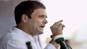 Rahul Gandhi targets PM Modi; 'Govt is busy in making profit'