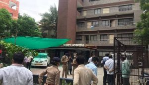 Ahmedabad COVID hospital fire: one arrested