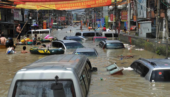 Chinas deadly summer floods have caused USD 25B in damage