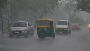 Fresh spell of rains keep temperature comfortable in Delhi