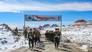 Indo China Border Issue: Chinese troops in Ladakh's Pangong area
