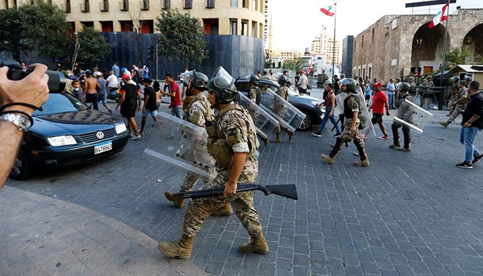 Lebanons military gets sweeping powers after Beirut blast