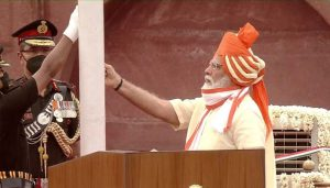 Independence Day: PM Modi hoists National Flag at Red Fort