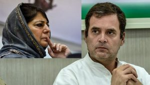 'Democracy is Damaged'; Rahul Gandhi Demands Mehbooba Mufti's Release