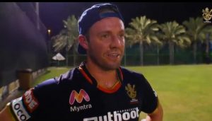 'Great Challenge': AB de Villiers Describes his First training session