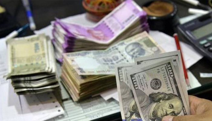 Rupee opens 18 paise down; slips below 75/USD mark in early trade