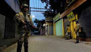 Immediate Curfew in Sringar ahead of 1st anniversary of Article 370  repeal