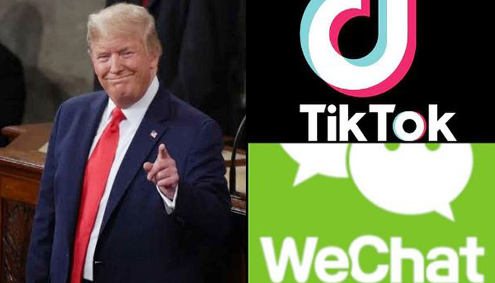 Trump signs executive orders banning Chinese apps TikTok & WeChat