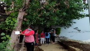 Students Raise Awareness About Environment By Tying Rakhi on Trees