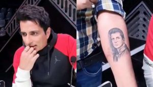 Here's How Sonu Sood Reacted when his Fan Gets tattooed actor's face & name