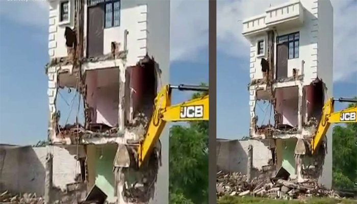 Illegal Properties of Gangster-Turned-MLA Mukhtar Ansari demolished in Lucknow