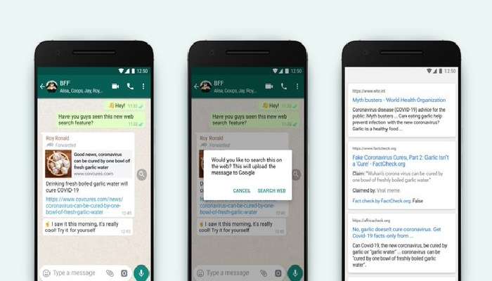 WhatsApp to launch new feature to avoid fake forwarded messages
