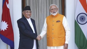 Nepal PM KP Sharma Oli extends greetings on India's Republic Day