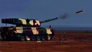DRDO proudly test fires Laser-Guided Anti Tank missile from MBT 'ARJUN'