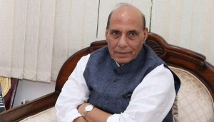 India stand behind Indian armed forces: Defense Minister Rajnath Singh