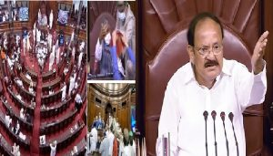 8 members of the House are suspended for a week: M Venkaiah Naidu
