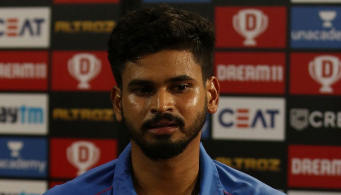 Capitals skipper Shreyas Iyer fined Rs. 12 lakh for slow over-rate against SRH