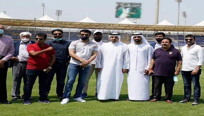 Ahead of IPL 2020, Sourav Ganguly takes stock of Preps at Iconic Sharjah Stadium