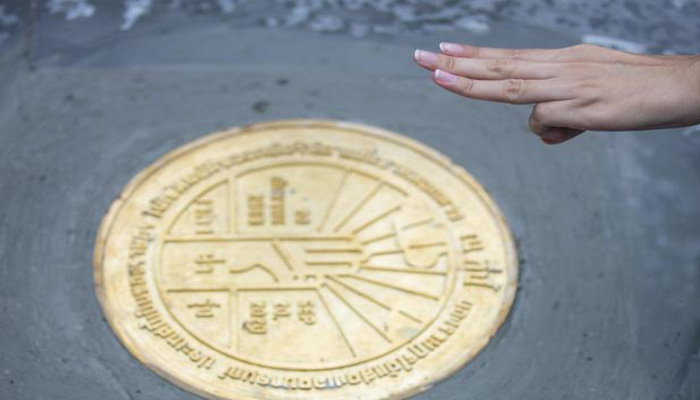 Plaque symbolising Thai democracy removed in less than a day
