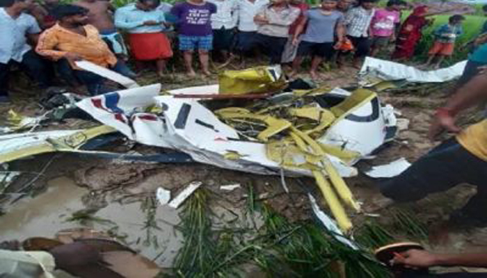 Trainee pilot dies after Four-seater aircraft crashes in UPs Azamgarh