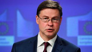 European Union names Dombrovskis as its new trade chief