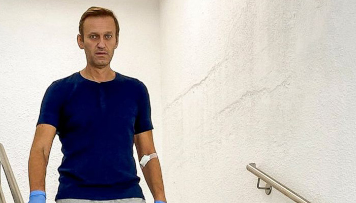 Alexei Navalny discharged from German hospital after 32 days