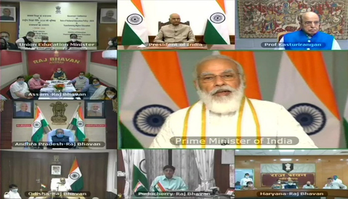 The New Education Policy focuses on learning instead of studying: PM Modi