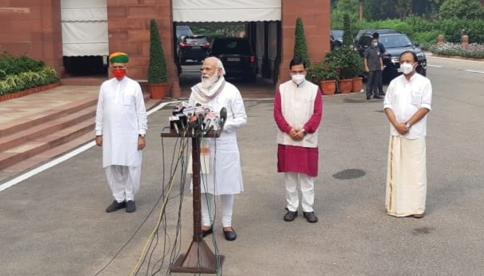 PM Modi says Parliament sends message that Nation stands with Soldiers