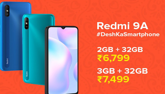 Redmi 9A available in Market now; Check its Specifications