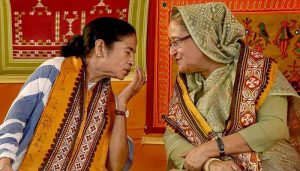 Bangladesh PM sends puja gifts to Mamata Banerjee
