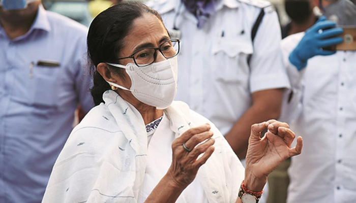Two days after attack CM Mamata Banerjee discharged from hospital