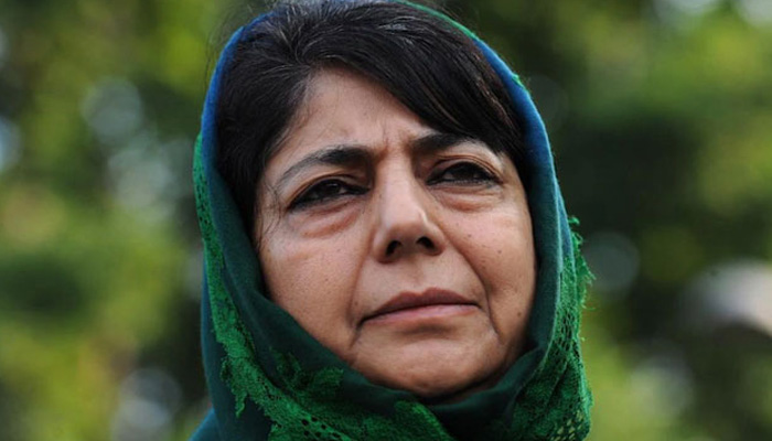 Black decision of black day attacks on my heart: Mehbooba Mufti