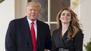 Hope Hicks shares stage with Trump in Florida fortnight after Virus bouts