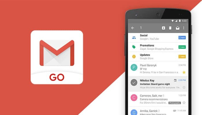 Google launches lighter Gmail Go App; Download it from Play Strore