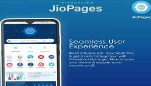 Reliance Jio launches its own web browser 'JioPages'