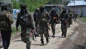 Gunfight breaks out near Mughal road in J&K's Surankote, two militants trapped