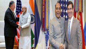 Esper and Mike Pompeo to arrive India for 2+2 dialogue