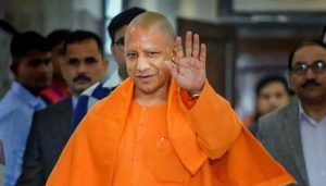 UP CM Yogi Adityanath distributes Tractors to Farmers