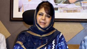 J&K: Mehbooba Mufti alleges, Her daughter put under house arrest