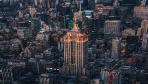 New York's Iconic Empire State Building Lit Up in Orange to celebrate Diwali