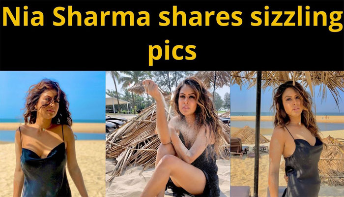 Nia Sharma is here to steal hearts in sexy black number...